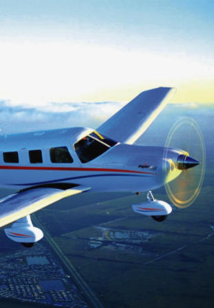 piper aircraft with turning propeller aircraft appraiser