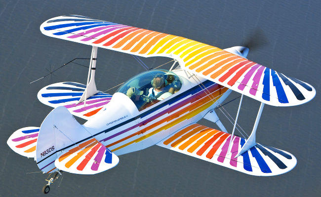 pitts aerobatic aircraft that receives an airplane appraisal